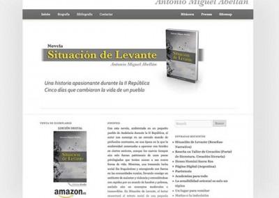 Mini Site Situación de Levante