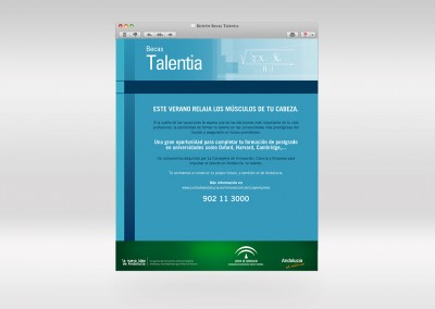 Boletín Becas Talentia