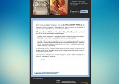 Boletín Programa Senior