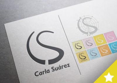 Logo Carla Suárez