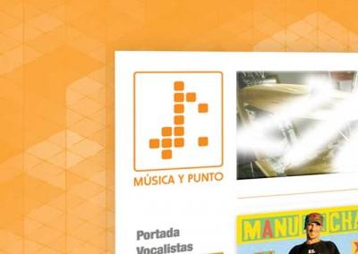 Logo Música y Punto