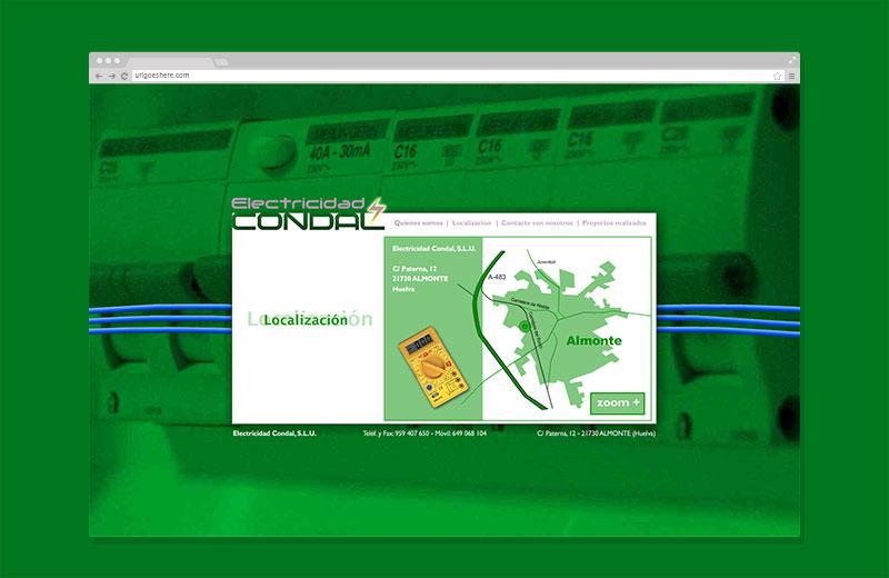 Web Electricidad Condal