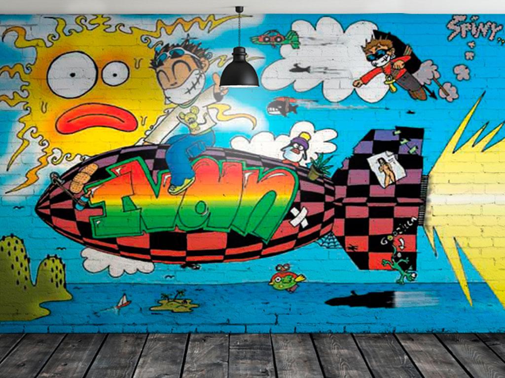 Pintura mural. 1999