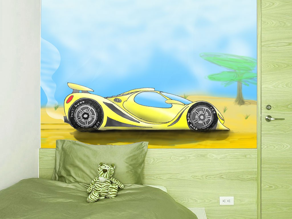 Mural coche