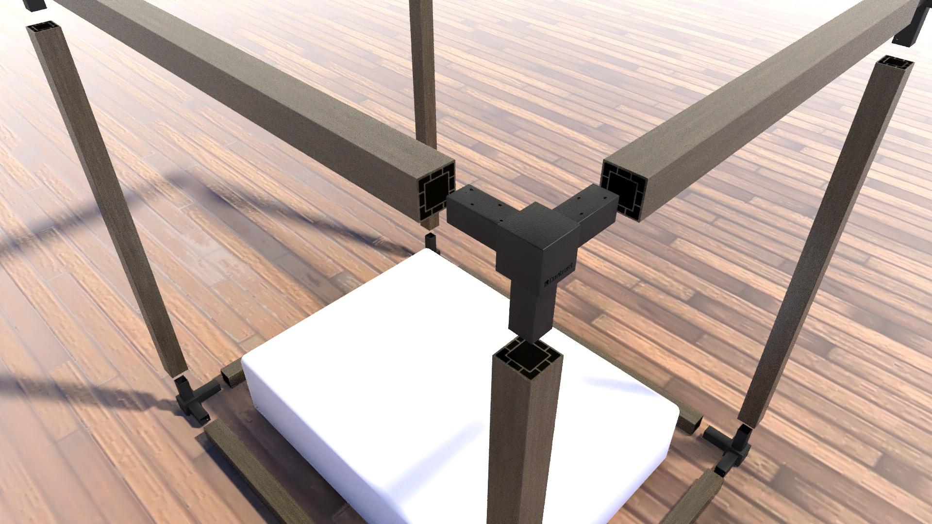 Render para animación de estructuras. Cliente: Grupo Contract