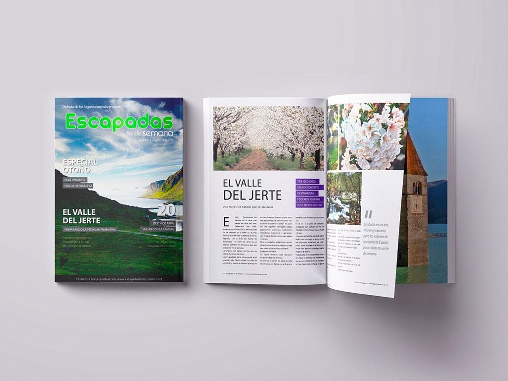 Revista turismo escapadas
